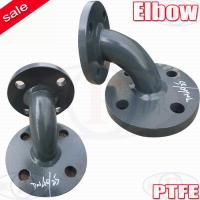 Buy cheap 45 degree elbow,90 degree elbow PTFE Pipe fittings from wholesalers