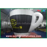 Buy cheap Oxford Cloth Outdoor Giant Inflatable Cup Model with Print for Promotional from wholesalers