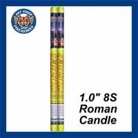 Buy cheap Consumer Fireworks 1.0 8S Roman Candle from wholesalers