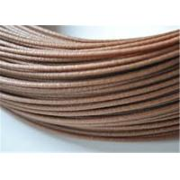 Buy cheap Good Bendability Wood Filament For 3D Printing 2.85mm , Dark Brown product