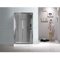 Tempered Glass Rectangular Shower Cabins , Sliding Door Shower Cubicles
