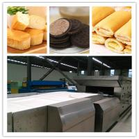 Buy cheap Industrial puffed snack food processing machine bread baking oven price from wholesalers