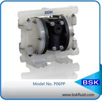 Buy cheap Low Pressure Plastic Air Driven Double Diaphragm Pump For Strong Acid Strong Alkali Liquids from wholesalers