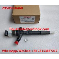 Buy cheap DENSO 295050-0460 Genuine Common rail injector 295050-0460 295050-0200 for TOYOTA 23670-30400, 23670-39365 from wholesalers