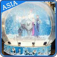 Buy cheap CE Approval X - Mas Christmas Inflatable Snow Globe For Photo Taking from wholesalers