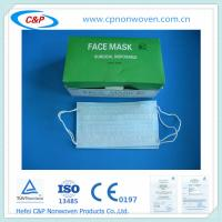 Buy cheap Surgical face mask,Surgical mask with Earloop from wholesalers