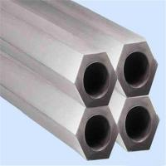 Buy cheap ASTM B338 Grade2 Seamless Titanium Hexagonal Tube Pipe from wholesalers