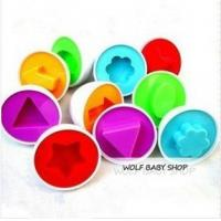 Buy cheap Baby infant educational Toys Paired Twisted egg color&shape insert intelligence Blocks from wholesalers