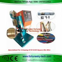 Buy cheap 1.8T Benchtop Wire Splicing Machine Wire Splicer Wire Splice Machine Neon and resistor connection LED wire connection from wholesalers