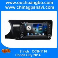 Buy cheap Ouchuangbo Honda City 2014 car audio dvd stereo navi with iPod USB SD swc Russia spanish from wholesalers