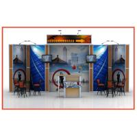 Buy cheap Heavy Duty Portable Expo Booth Displays Eco-Friendly With Aluminum Frame from wholesalers