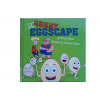 Buy cheap Coated Matt Art Paper Kids Book Printing , Picture Book Printing For The Great Eggscape from wholesalers