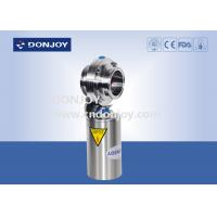 Buy cheap Pneumatic Operation Sanitary Butterfly Valves with Clamped Ends from wholesalers