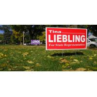 Buy cheap Full Color PP Printing Yard Signs Two Sides , As Customized from wholesalers