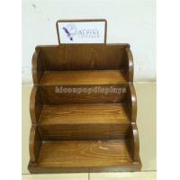Buy cheap Wood Cosmetic Display Stand for E - Liquid Juice Bottles / Essential Oil from wholesalers