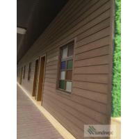 Buy cheap Easy fixing wall cladding, wood plastice composite WPC wall panels from wholesalers