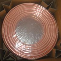 China Customized C12200 Seamless Copper Tube Straight For Water Heater on sale
