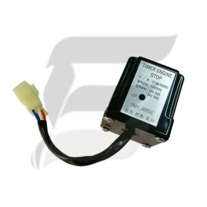 Buy cheap 21Q6-50500 Time Delay Excavator Timer Relay For R225-9 R265-9 R275-9 R305-9 product