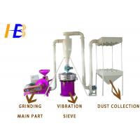 Buy cheap EDPM Rubber Plastic Grinding Machine With Dust Collection System 200KG / H from wholesalers