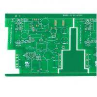 Buy cheap 4 Layers FR4 Printed Circuit Board with 1oz HASL PCB for High Frequency Power Supply from wholesalers