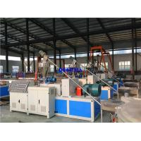Buy cheap Plastic Extruder WPC Production Line , WPC PVC Door Manufacturing Machine from wholesalers