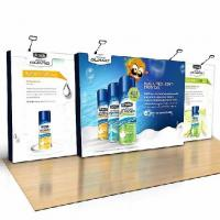 Buy cheap Straight Fabric Pop up Wall, Popup Wall, Popup Backdrop MS-7AS, aluminum 3x3, 4x3 size from wholesalers