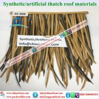 Buy cheap AT-008 Synthetic Thatch Roofing Building materils  for Hawaii Bali Maldives from wholesalers