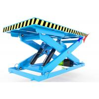 Buy cheap 1.5m X 1.5m Platform Electric Scissor Lift Platform 5t Stationary Industrial Lift Tables from wholesalers