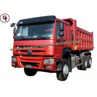 Buy cheap Sinotrucks 25 - Tons HOWO Heavy Tipper Forward Dump Truck For Sri Lanka from wholesalers