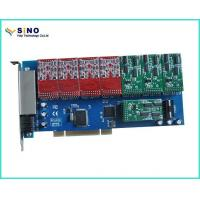 Buy cheap PCI to Isa Card Sinov-TDM1600P 16 Port FXO / FXS PCI Card VoIP WCDMA Gateway Witn Imsi Catcher from wholesalers