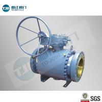 Buy cheap High Pressure Trunnion Ball Valve with A105 Forged Steel for Oil Pipeline from wholesalers