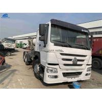 Buy cheap Year 2013 Used Howo Tractor Truck 371hp 40-80 Tons Left Hand Driving For Ghana from wholesalers