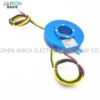 Buy cheap Electrical Platter Slip Ring Transmitting Rotary Electric Power Flat Type Hole Size 100mm from wholesalers