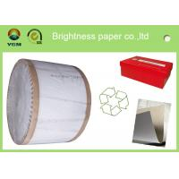 Buy cheap Recycled One Side Coated Grey Back Duplex Board Paper Sheet 787 * 1092mm product