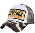 Buy cheap Mesh Style Embroidery Mesh Trucker Hats Summer Baseball Cap Custom Design 2D Logo from wholesalers