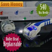 Buy cheap Head Replaceable Derma Roller  LED Red Light Acne Scars Wrinkles Removal from wholesalers