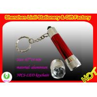 Buy cheap OEM Mini metal Aluminium Led keychain flashlights torch  product