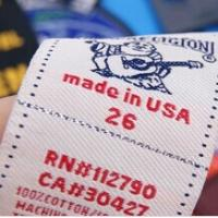 Buy cheap New fashion custom number woven label from wholesalers