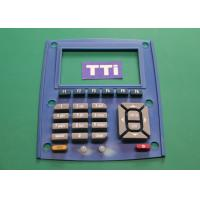Buy cheap Double Color Injection Molding With Screen Painting - Custom Rubber Keypads from wholesalers
