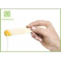 China Portable Wooden Waxing Spatulas Hair Removal Stick Environmentally Friendly on sale