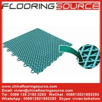 Buy cheap PP Interlock Tile Sports Flooring basketball court flooring table tennis court flooring from wholesalers