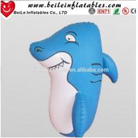 Buy cheap 1MH Factory direct hot sale blue PVC inflatable roly-poly toy for kids from wholesalers