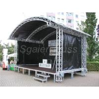 Buy cheap Aluminum assemble portable stage mobile stage simple stage from wholesalers