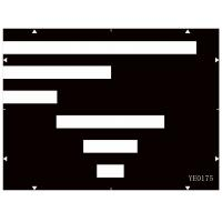 Buy cheap 3nh / Sineimage Reflective/Transparent YE0175 Streaking Measurement Test Chart for the disturbance product