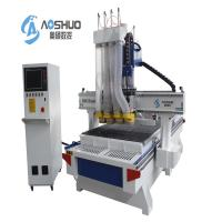 Buy cheap 4 Spindle Cabinet Door CNC Wood Cutting Machine , Cnc Mill For Woodworking from wholesalers