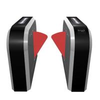 Buy cheap Wing Flag Entrance Turnstile Barrier Gate Access Control System Anti Breakthrough from wholesalers