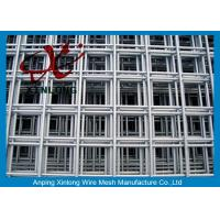 Buy cheap 4x4 Stainless Steel Welded Wire Mesh Panels For Concrete Foundations from wholesalers