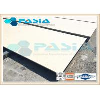 Buy cheap Flexural Ceramic Backed Composite Stone Panels For Countertops Fire Resistant from wholesalers