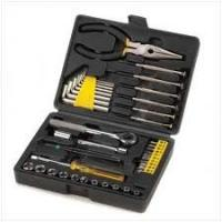 Buy cheap 2PCS 6 x 100 Handle screwdriver Home-use gifts Hand Complete Tool Box Set from wholesalers