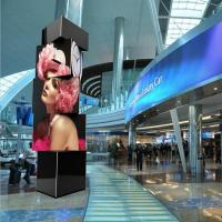 Buy cheap Square 2.5mm indoor LED Video Walls , Large Advertising LED Cube Display SMD2121 from wholesalers